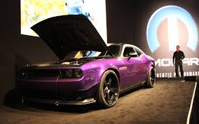 sema 2012 comedian jeff dunham tricks out 2012 dodge challenger srt8