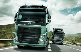 volvo tractor truck video find volvo u0027s new semi truck stops itself just shy of a