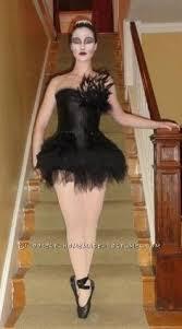 Black Swan Costume Halloween Homemade Black Swan Halloween Costume Homemade Black Halloween
