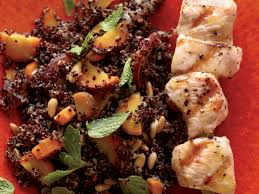 carrots thanksgiving warm quinoa salad with carrots and grilled chicken recipe food