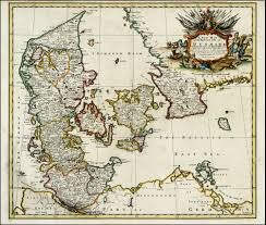 Map Of Denmark A New Map Of The Kingdom Of Denmark With The Dutchy Of Holstein U0026c
