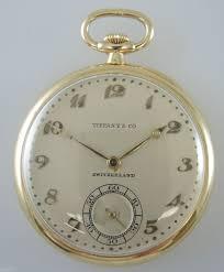 antique roadshow tiffany ls genuine 18k gold patek philippe pocket watch made for tiffany c1928