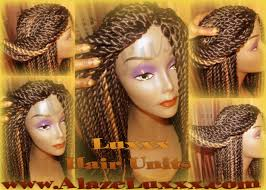senegalese pre twisted hair new natural look handmade senegalese twist wig unit glueless