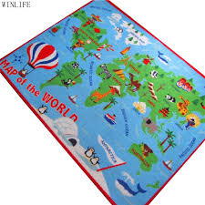 World Map Cartoon by Online Buy Wholesale Kids World Map Rug From China Kids World Map