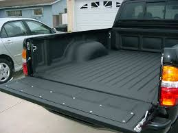 white truck bed liner plastic bedliner or spray on yotatech forums intended for awesome