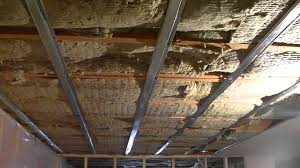 basement ceiling sound insulation basements ideas
