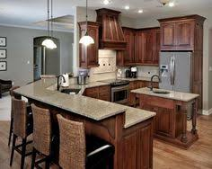 Birch Cabinetry Cherry Stain Finish Traditional Kitchen Cabinet - Stain for kitchen cabinets