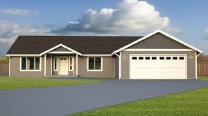 Rambler House by Gannon Park Home Plan True Built Home Pacific Northwest Custom