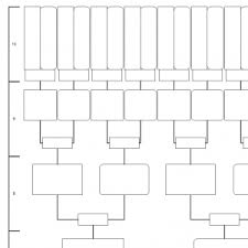 family tree template 10 generations printable empty to fill in