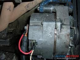 200 amp delco remy install on v belt setup ford bronco forum