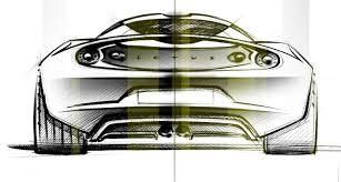 lotus evora design sketch 5 lg supercar sketches
