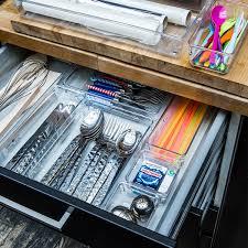 organisateur de tiroir cuisine compartiment tiroir cuisine carré en acrylique cuisine