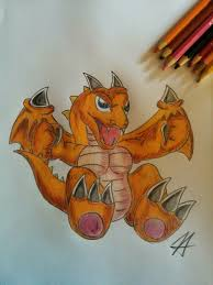 baby dragon from yugioh by bounce121 on deviantart