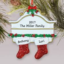 personalized white mantle ornament giftsforyounow