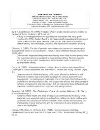 Apa Cover Letter Sample How To Write An Annotated Bibliography In Apa 6th Edition