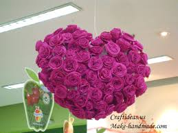 heart gifts easy paper roses for heart gifts craft ideas