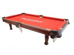 budweiser minerature mini promotion pool table complete with 2