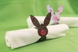 easter napkin rings easter bunny napkin rings tally s treasury