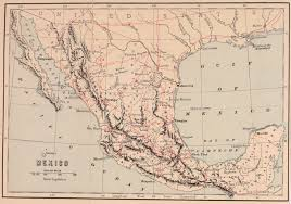 Map Of Sonora Mexico by Appleton U0027s Guide To Mexico Wikisource The Free Online Library