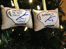once upon a time chipped teacup rumbelle ornament