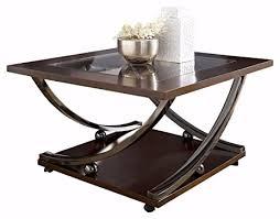 Ashley Furniture Glass Coffee Table Amazon Com Ashley Furniture Signature Design Rollins Square
