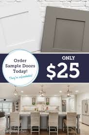 27 best cabinet doors images on pinterest cabinet doors kitchen our sample door program is perfect for people who want to check out the door styles and colors in person our sample doors are 100 refundable and shipping