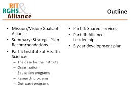strategic plan draft june 23 outline mission vision goals of