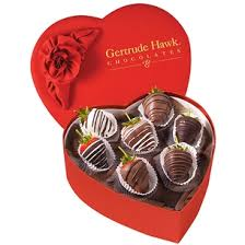 heart box of chocolates gertrude hawk chocolates heart box with chocolate covered