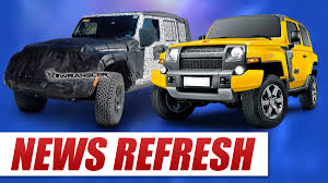 jl jeep new jeep wrangler jl updates plus bronco leaks 4wheel online