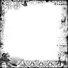 Free Halloween Borders And Frames Png Frame Vintage French By Cesstrelle Deviantart Com On