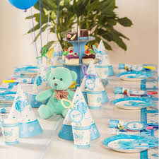 Cake Decorations At Home Birthday Party Decoration Ideas For Baby Boy Image Inspiration