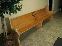 Church Pew Style Bench Custom Reclaimed Church Pew Bench By Metcalf Builders Custommade Com
