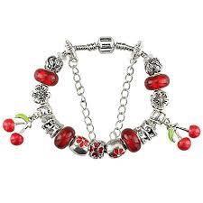 bracelet charm pandora images Duchy silver plated charm bracelet charms pandora red jpg