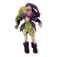 mardi gras doll 20 mardi gras jester doll 72065 mardigrasoutlet