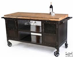 handmade kitchen islands industrial mini bar reclaimed train car floor top u2013 real
