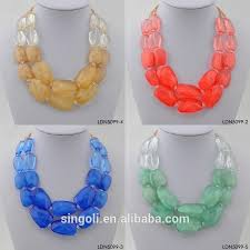 bead necklace style images Wholesale different style red multi layer bead necklace three jpg
