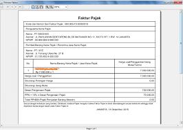 cara membuat faktur pajak untuk uang muka export ppn 1 atas jasa pengiriman barang ekspedisi ke e faktur