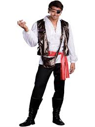 men u0027s captain pirate halloween costumes dreamgirl teezers