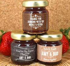 jam wedding favors personalized jam jar favors silhouette collection jam wedding