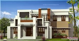 kerala home design flat roof elevation modern home design flat roof