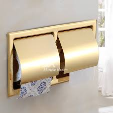 paper holder toilet paper holder recessed stainless steel polished