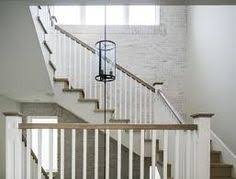 Oak Banisters And Handrails White Banisters Google Search House Renovation Ideas