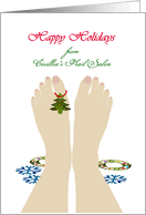 christmas cards for my nail technician from greeting card universe