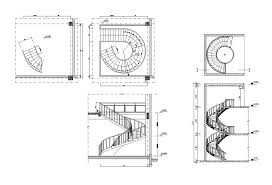 free spiral stair details free cad blocks u0026 drawings download center