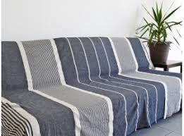 grand jeté de canapé grande fouta xl coton jeté de lit de canapé nappe
