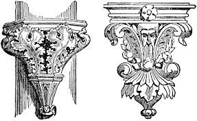 ornamental brackets clipart etc