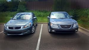 2009 accord ex v6 3 5 vtec vcm 271 hp vs 2009 sonata v6 3 3 249