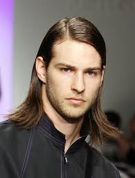 when a guys tuck hair behind ears means long hairstyles for men picture gallery