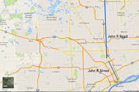 Adrian Michigan Map by Who Is John R And Why Is There A Street In Detroit Named After Him