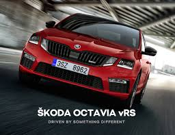 evolution of the skoda octavia vrs rainworth skoda